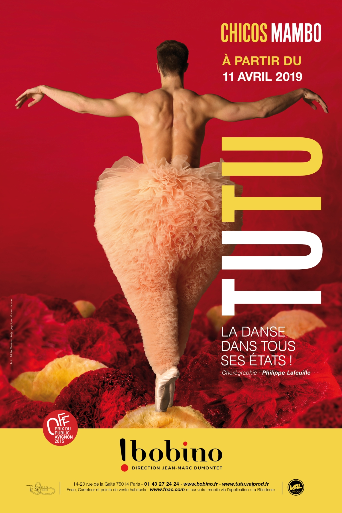 Tutu, la danse dans tous sesétats